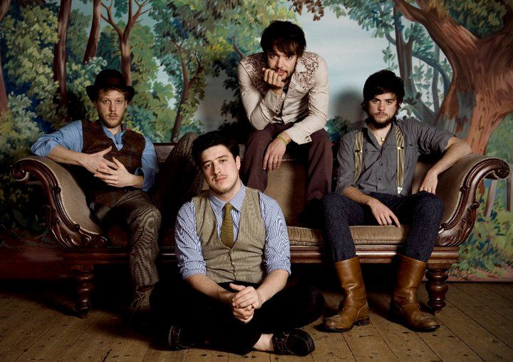 Mumford and Sons, foto Facebook.com Mumford and Sons