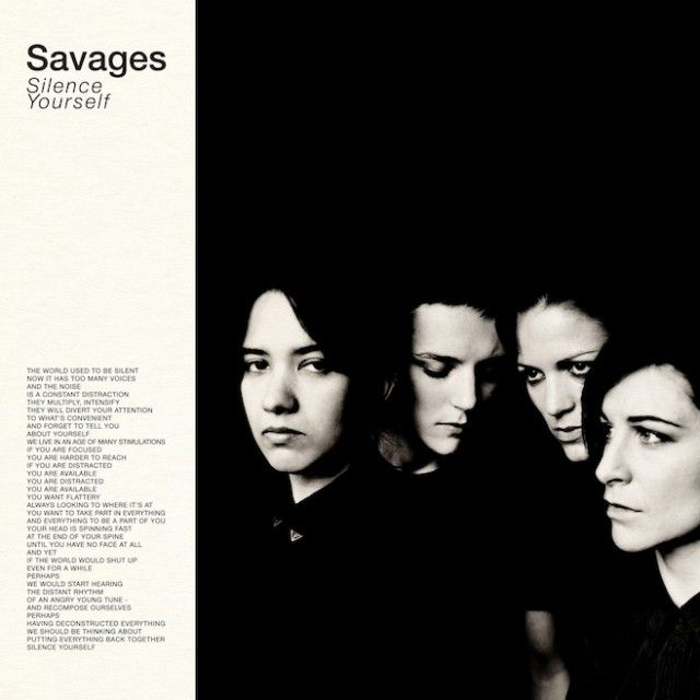 Savages - Silent Yourself