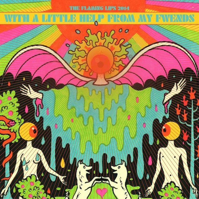 The Flaming Lips - With a Litlle Help From My Fwends