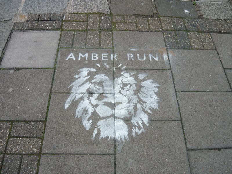 Amber Run logo, The Great Escape 2014, foto Zuzana Macháčková