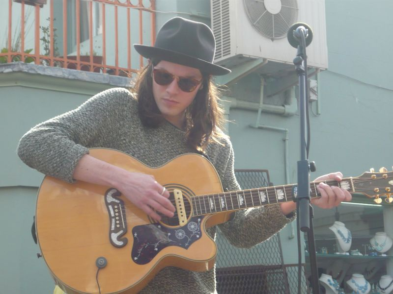 James Bay, The Great Escape 2014, foto Zuzana Macháčková