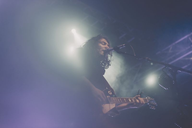 The War On Drugs, Vídeň, 18. 8. 15, foto Libor Galia